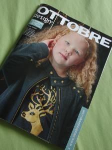 Magazine Ottobre, Numéro Hiver 2015 et son modèle On Another Star