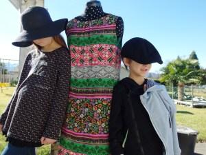 Robe, Tunique et veste zippée !!! Modèle Ottobre !!!