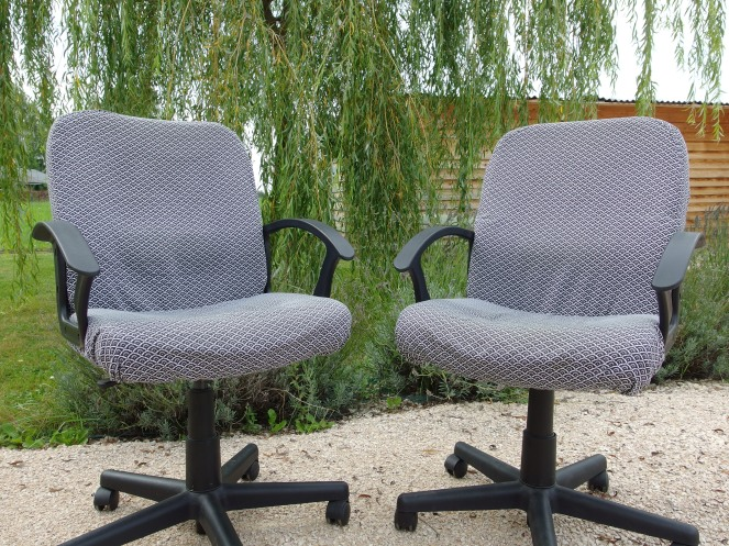 Du neuf avec du vieux... Les fauteuils du bureau relooké !