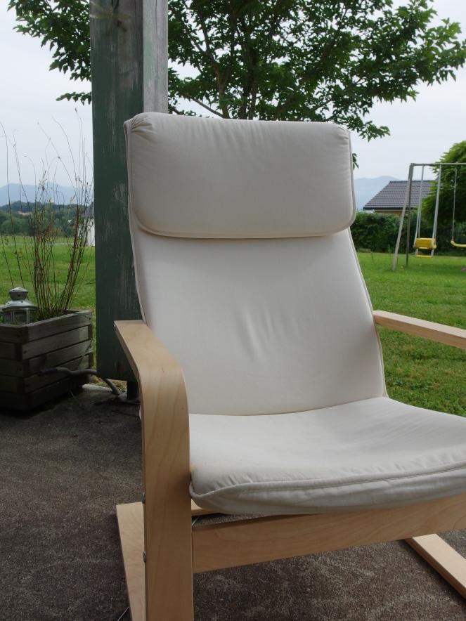 Du neuf avec du vieux ! Le fauteuil du salon avant relooking !!